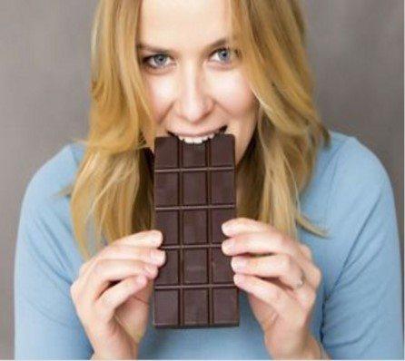 Eat chocolate to beat diabetes.
