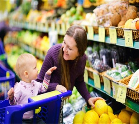 Hello! Who buys the the food? It's not the kids it's the parents!