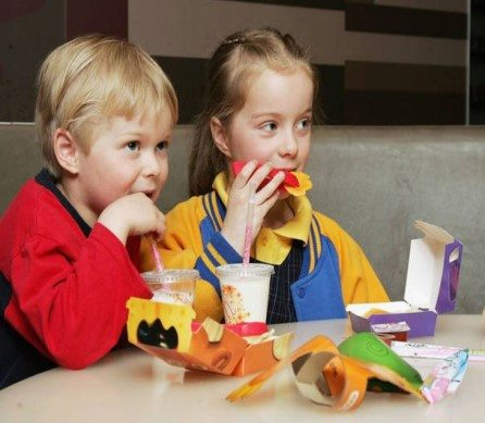 Junk food link to ADHD in children