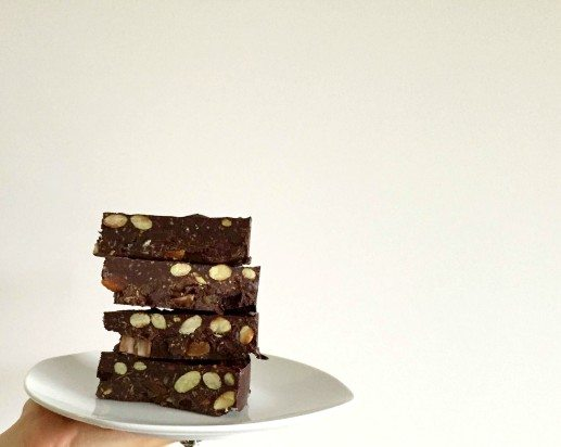 Apricot and Almond Chocolate