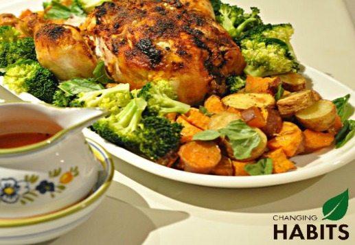 Easy & Divine Roast Chicken