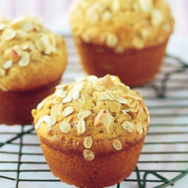 Apple, Oat and Sultana Muffins