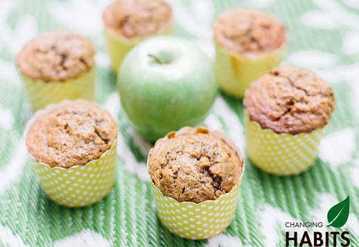 Apple and Cinnamon Emmer Wheat Muffins