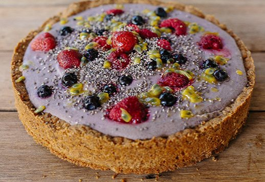 Berry & Chia Cheesecake