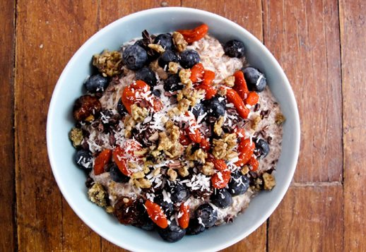 Blueberry Chia and Seed Bowl