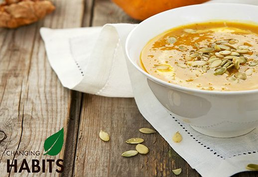 Brothy Pumpkin Soup