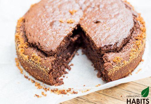 Cacao Coconut Cake