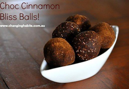 Choc Cinnamon Bliss Balls
