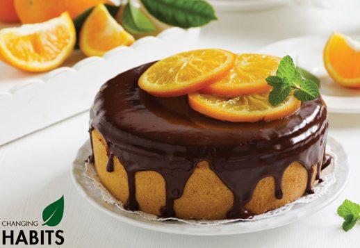 Chocolate Orange and Almond Cake