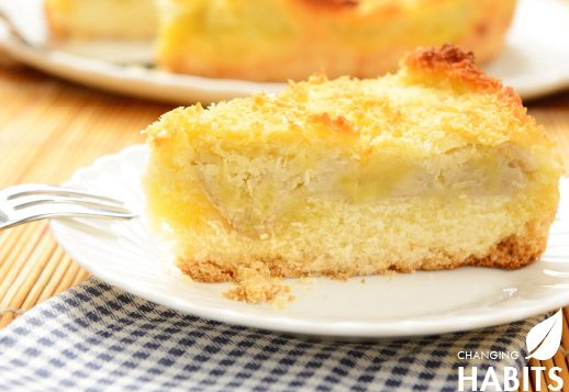 Coconut Impossible Pie