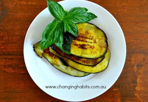 Eggplant – grilled and flavoursome!