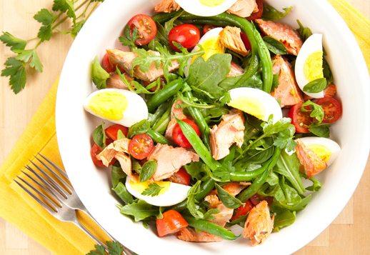 Lemony Salmon Salad