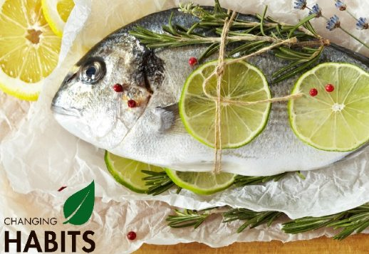 Lime and Rosemary Whole Baked Fish