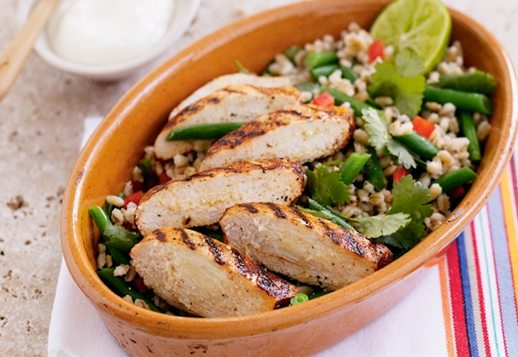 Paprika Chicken with Quinoa Salad