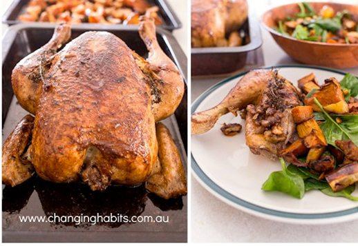 Roasted Savoury Spiced Chicken