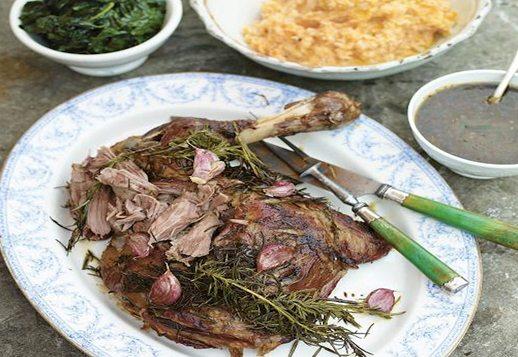 Roasted Shoulder of Lamb – by Jamie Oliver