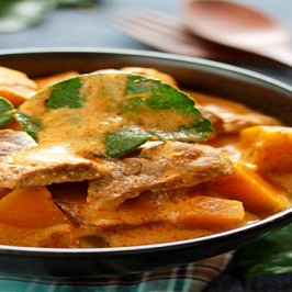 Spicy Beef and Pumpkin Curry