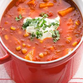Sweet Potato and Tomato Soup