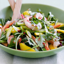 Tropical Rocket and Mango Salad