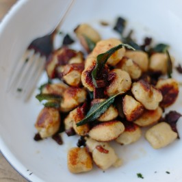 Burnt Butter Gnocchi With Crispy Bacon And Sage Changing Habits
