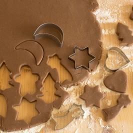 Emmer Wheat Xmas Gingerbread Cookies