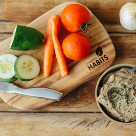 Garlic and Thyme Pepper Pate