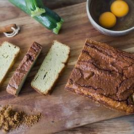 Nourishing Zucchini & Coconut Bread