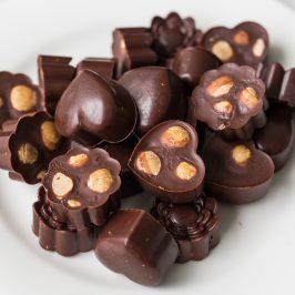 Salted Inca Inchi Chocolate Bites