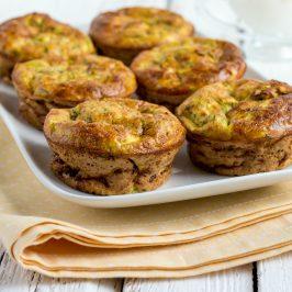 Quinoa Zucchini & Cheese Muffins