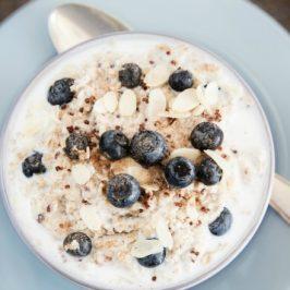 Blueberry Coconut & Quinoa Porridge