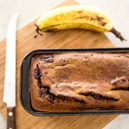 GF Choc Chip, Cinnamon Banana Bread