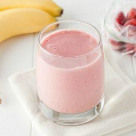 Strawberry Banana Breakfast Smoothy