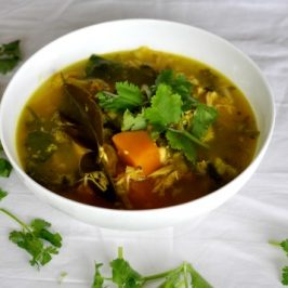 Chicken Soup with Pumpkin, Ginger & Turmeric