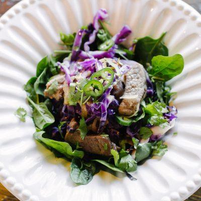Quick Cabbage & Beef Stir Fry