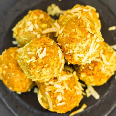 Turmeric & Honey Golden Bliss Balls