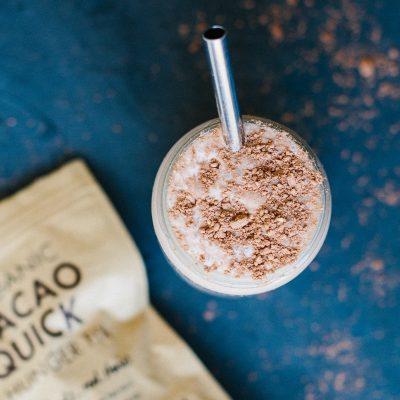 Choc Peppermint Milkshake