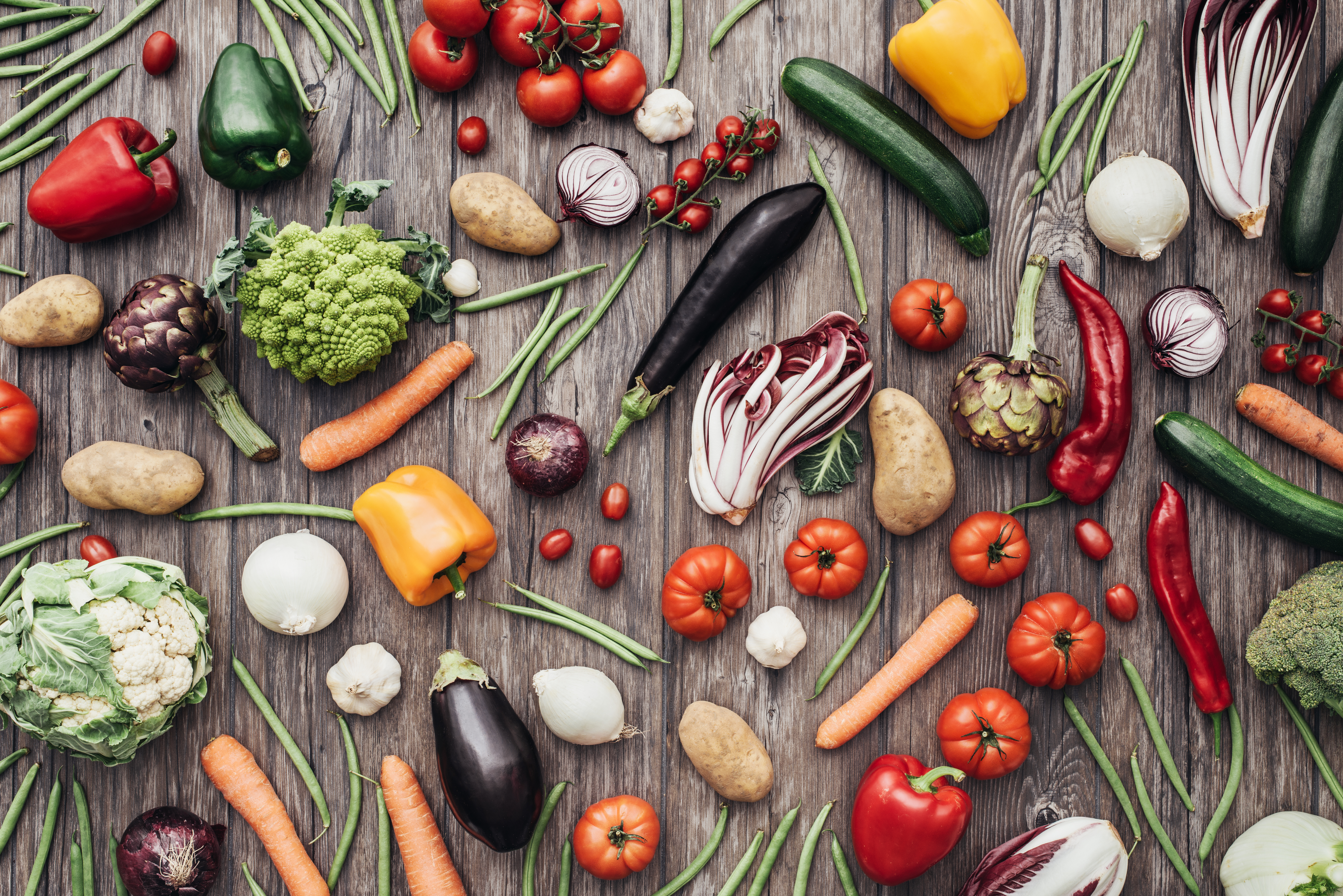 12 Beautiful Foods to Eat on a Plant Based Diet