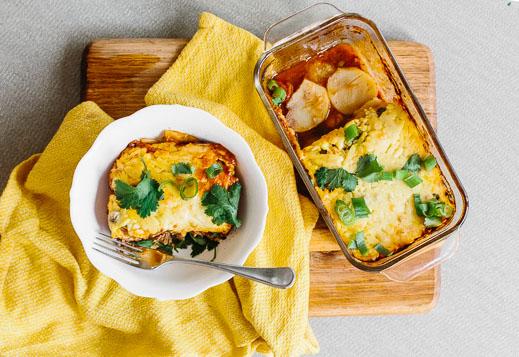 Potato Bake Lasagna
