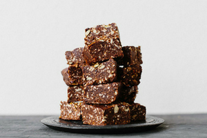 Chocolate Muesli Slice