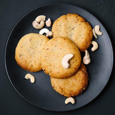 3 Ingredient Cashew Cookies
