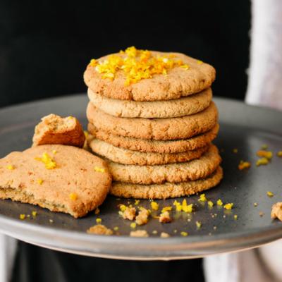 Almond Orange Biscuits Changing Habits