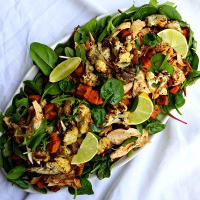 Roast Chicken & Veggie Salad