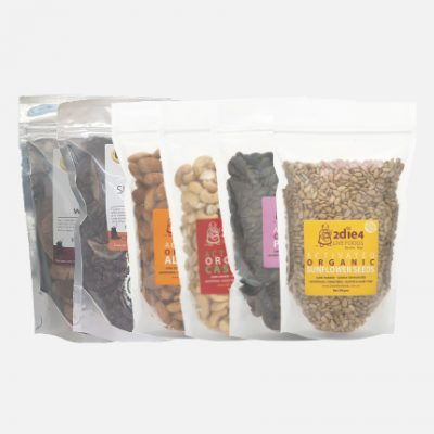 Dried Fruits, Nuts and Seeds