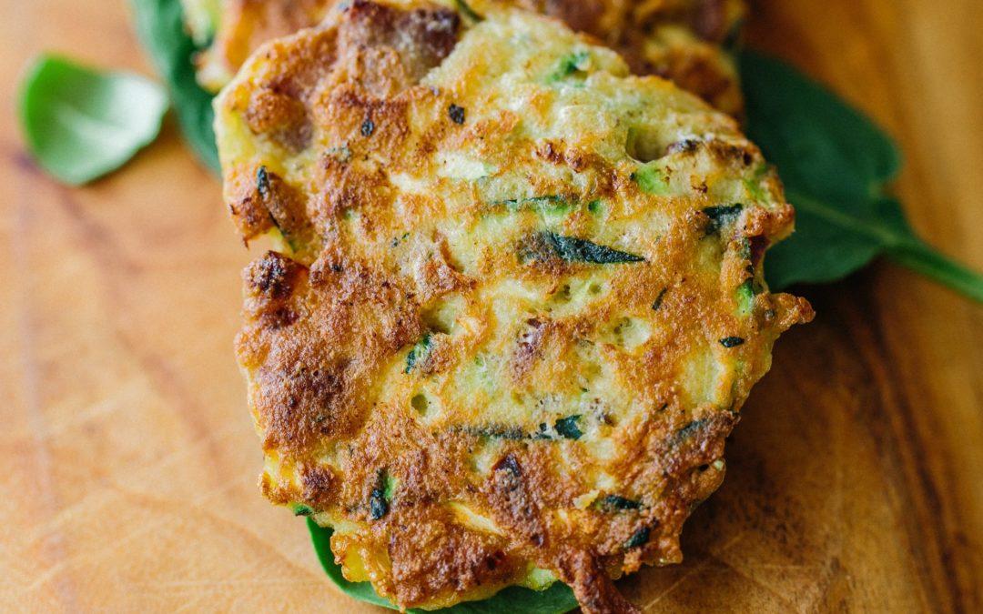 Basil & Veggie Fritters