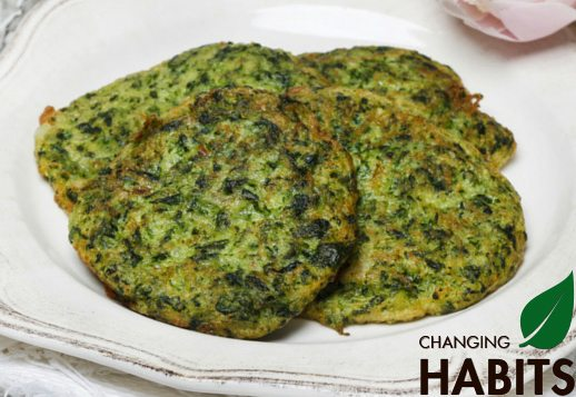 Spinach & Bacon Fritters