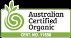 Australian Certified Organic Certificate