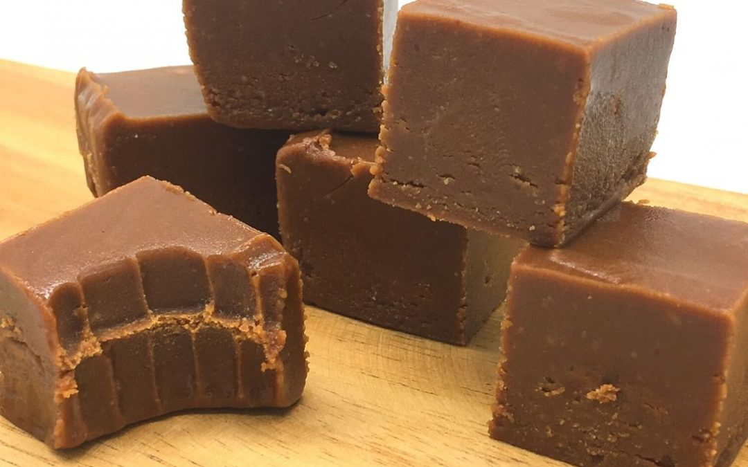 Salted Cacao and Peanut Butter Fudge