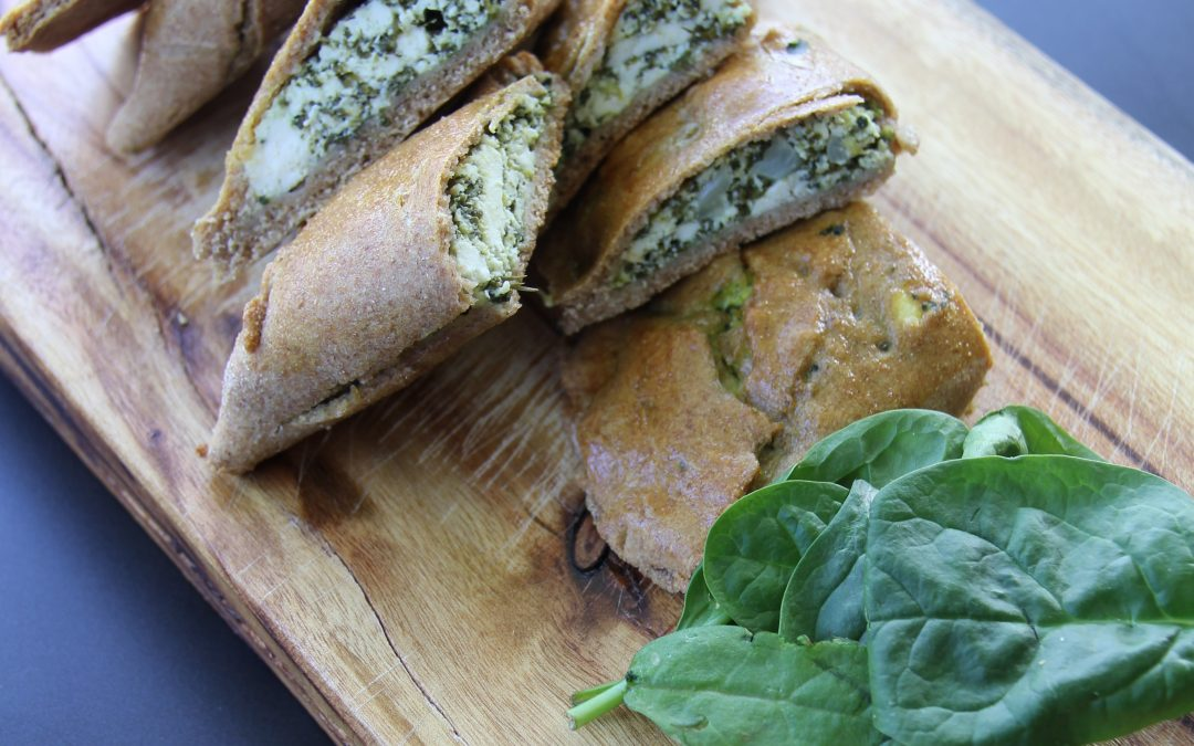 Spinach and Ricotta Parcels
