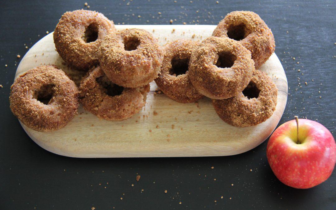 Apple and Cinnamon Doughnuts