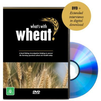What's With Wheat DVD Cover